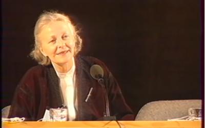 Eva de Vitray-Meyerovitch, un trésor de souvenirs : Colette-Nour Brahy