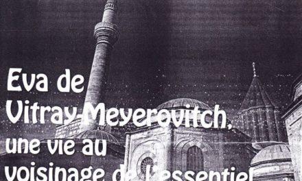 Eva de Vitray-Meyerovitch, un trésor de souvenirs : Marie-Laure Bousquet